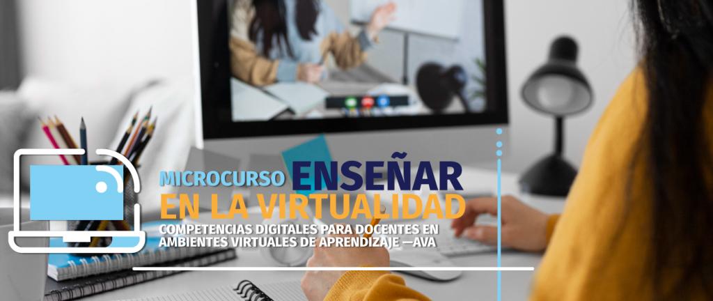 Banner Enseñanza en Ambientes Virtuales de Aprendizaje